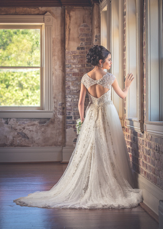 Bridal photography crowley LA Grand Opera House of the South Brewyet Photography